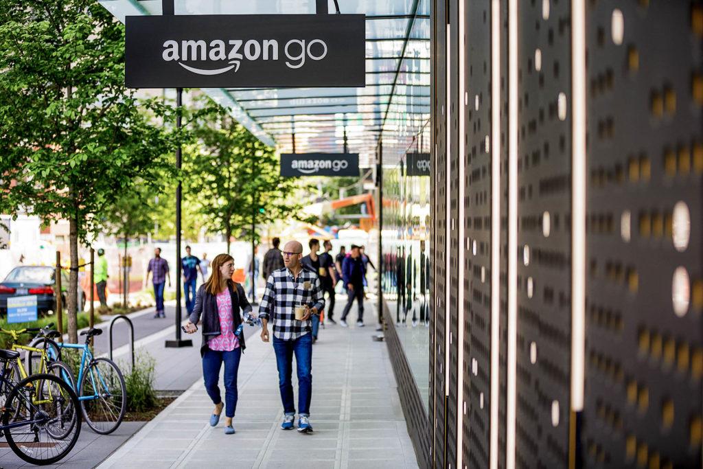 Amazon liefert Lebensmittel, revolutioniert aber auch den Einzelhandel
