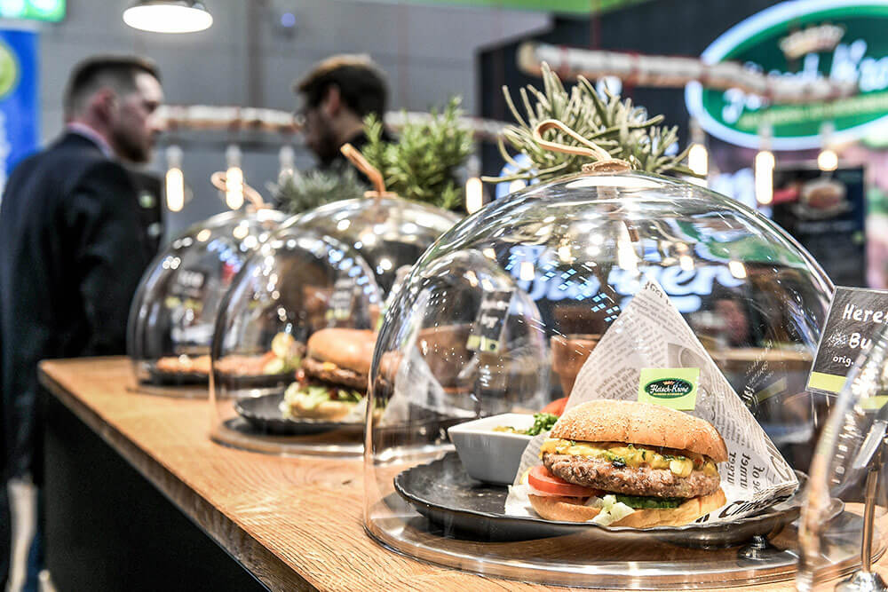 Streed food trends at Internorga event 2019