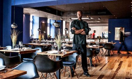 Chef Anthony Sarpong für sein Restaurant und Netflix