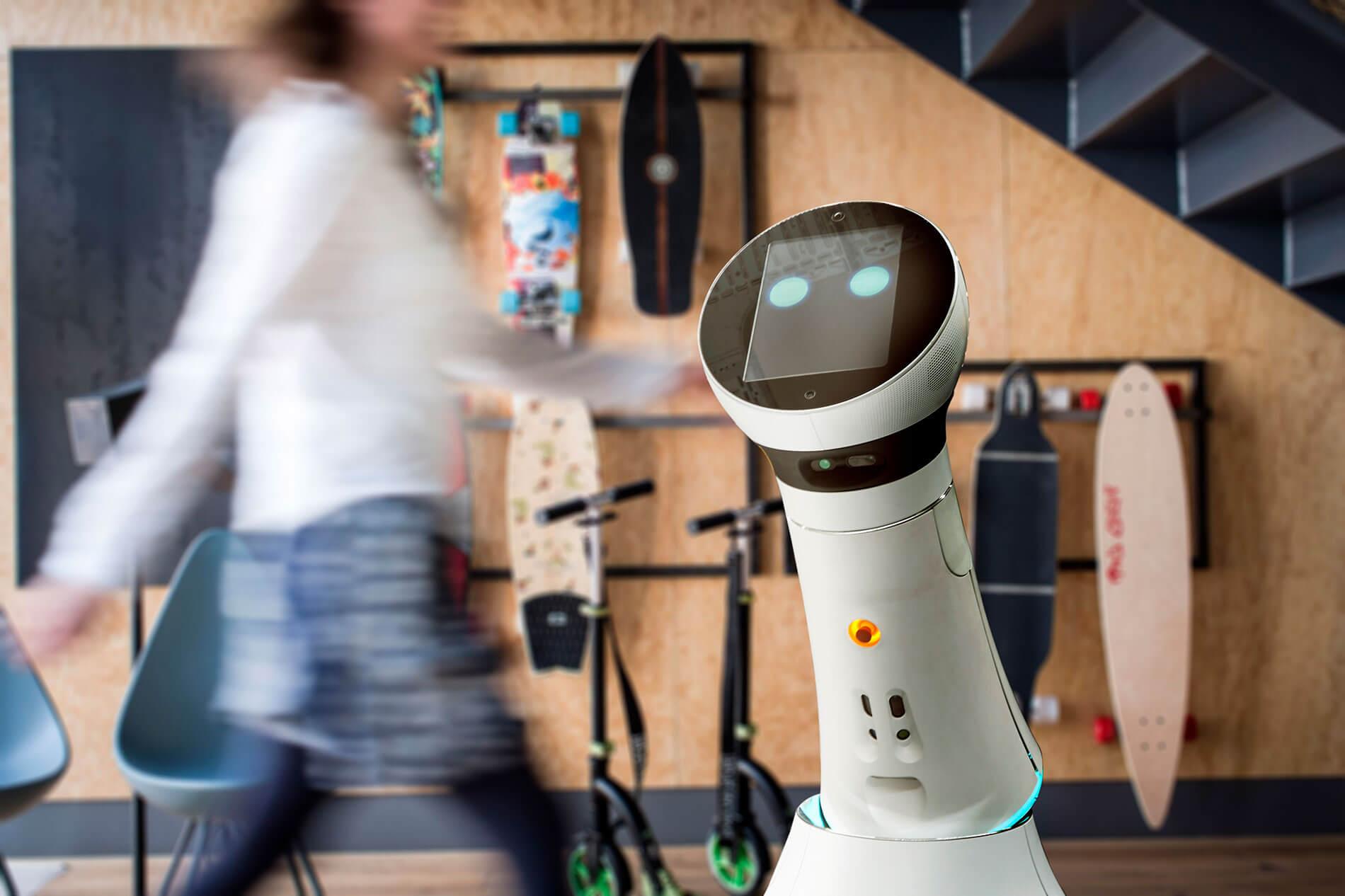 Roboter Hotel der Zukunft