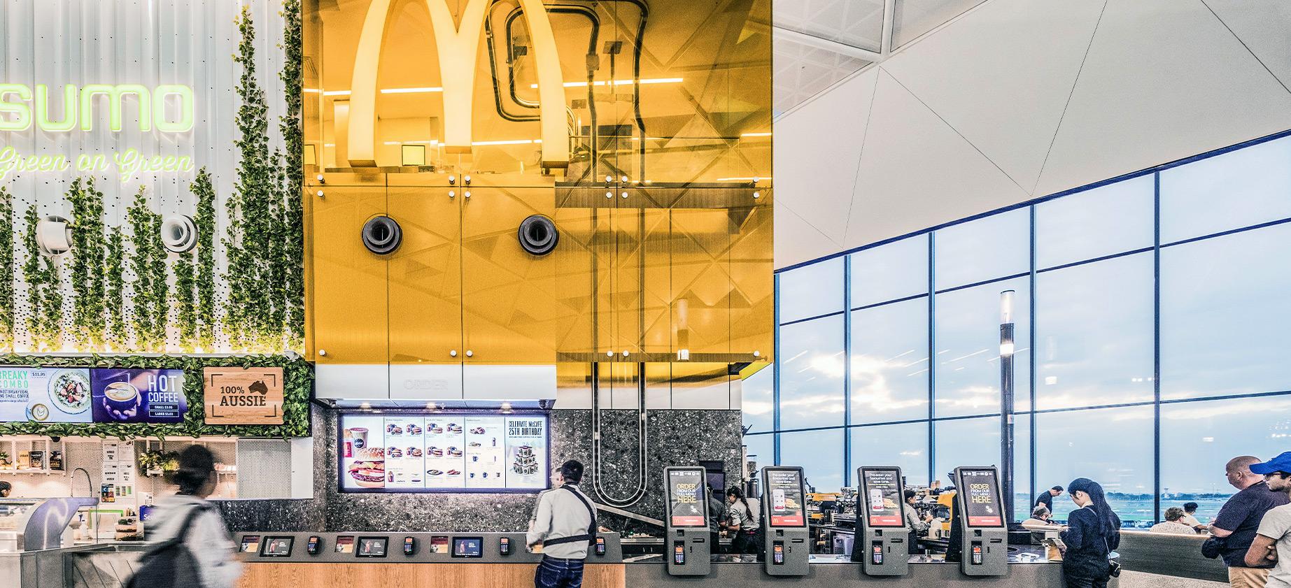 McDonald´s Sidney Airport QSR