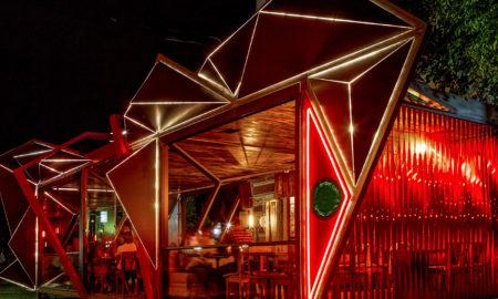 futuristic restaurant
