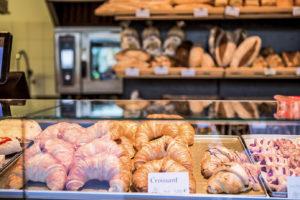 Bäckerei wird  zum Restaurant