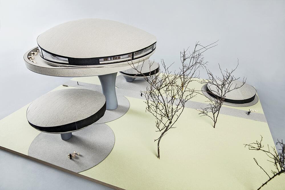 Future Restaurant - Zeppeling