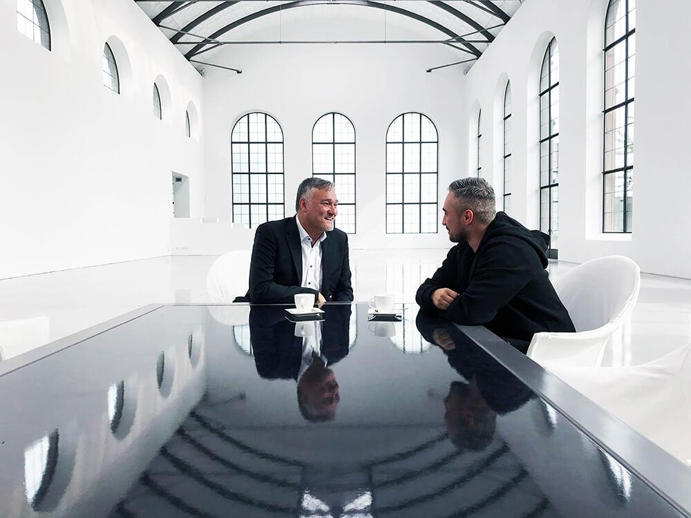 Simon Kolar Guerilla Chefs und Oliver Frosch von RATIONAL