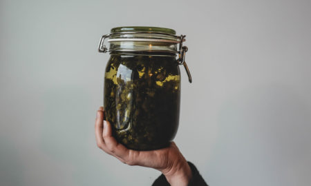 Fermentation Glass Jar