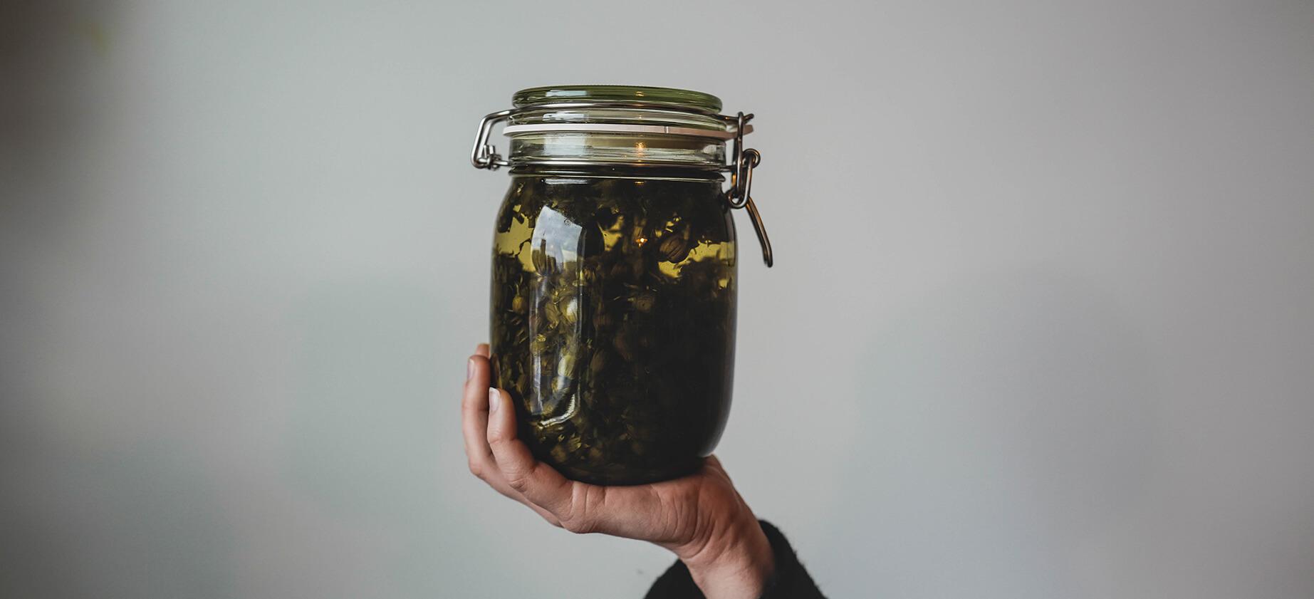 Fermentation Glass Jar