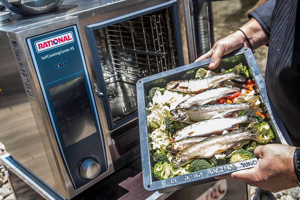 What does breeding of marine and freshwater fish under artificial conditions using mechanical and bio-chemical means? Sustainable restaurant