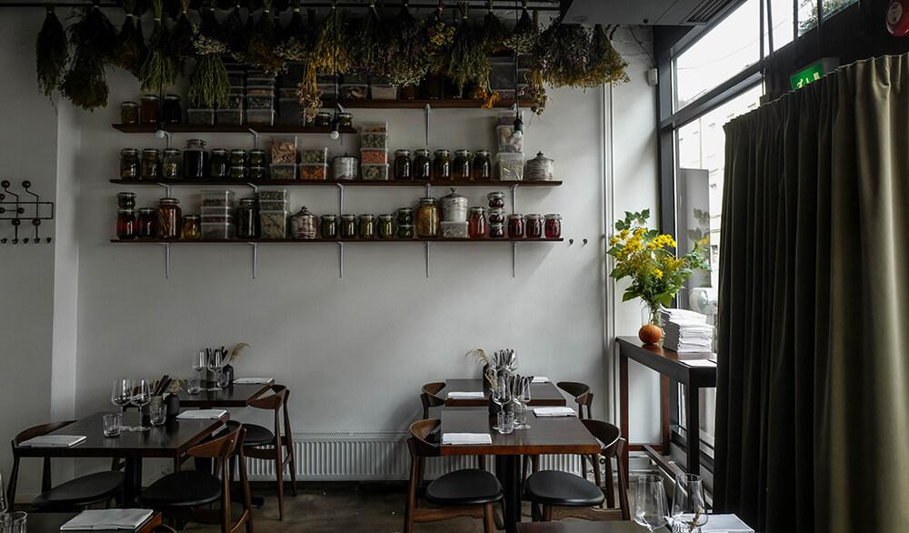 Restaurant Grön Interior