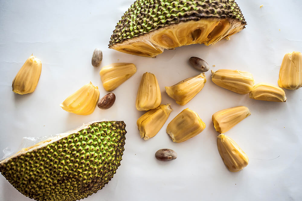 Jackfruit meat substitute