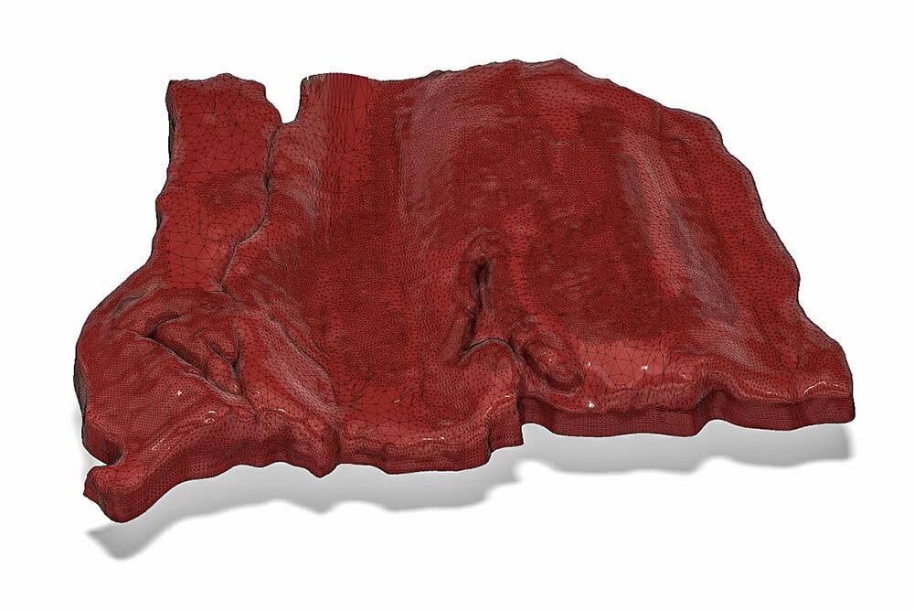 3d printed food Steak Rendering