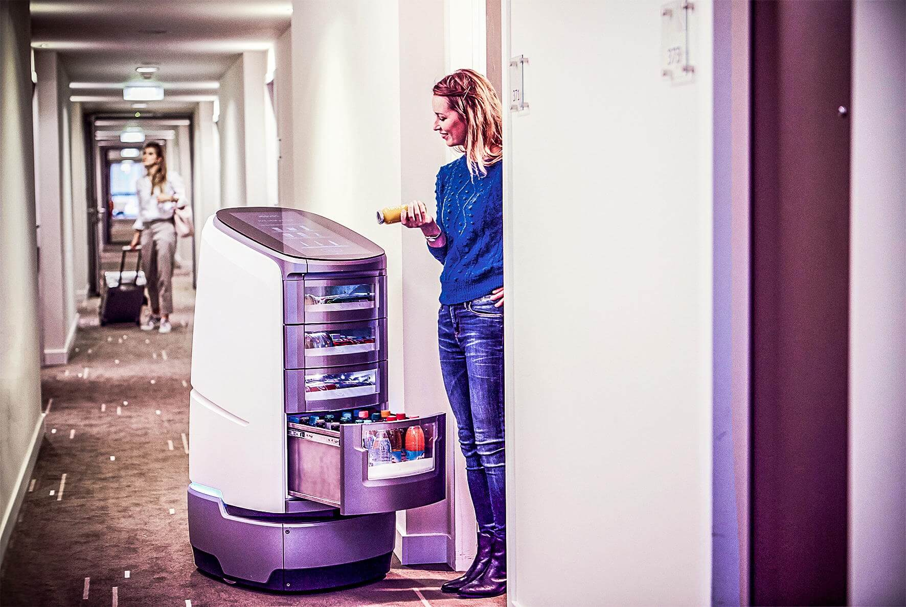 Roboter and Digitalisation in Hotels