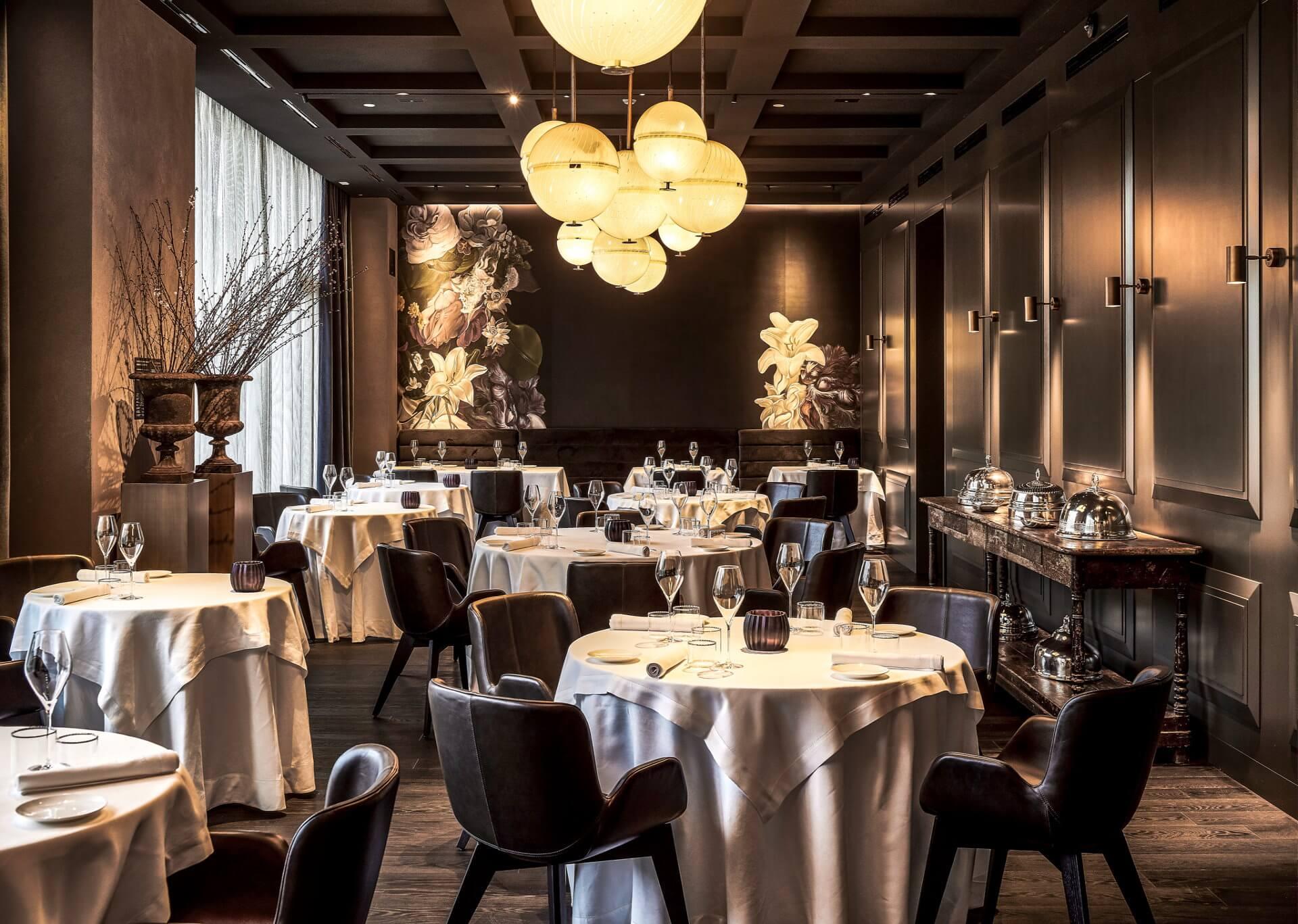 Interior Design for Restaurant and Hotel