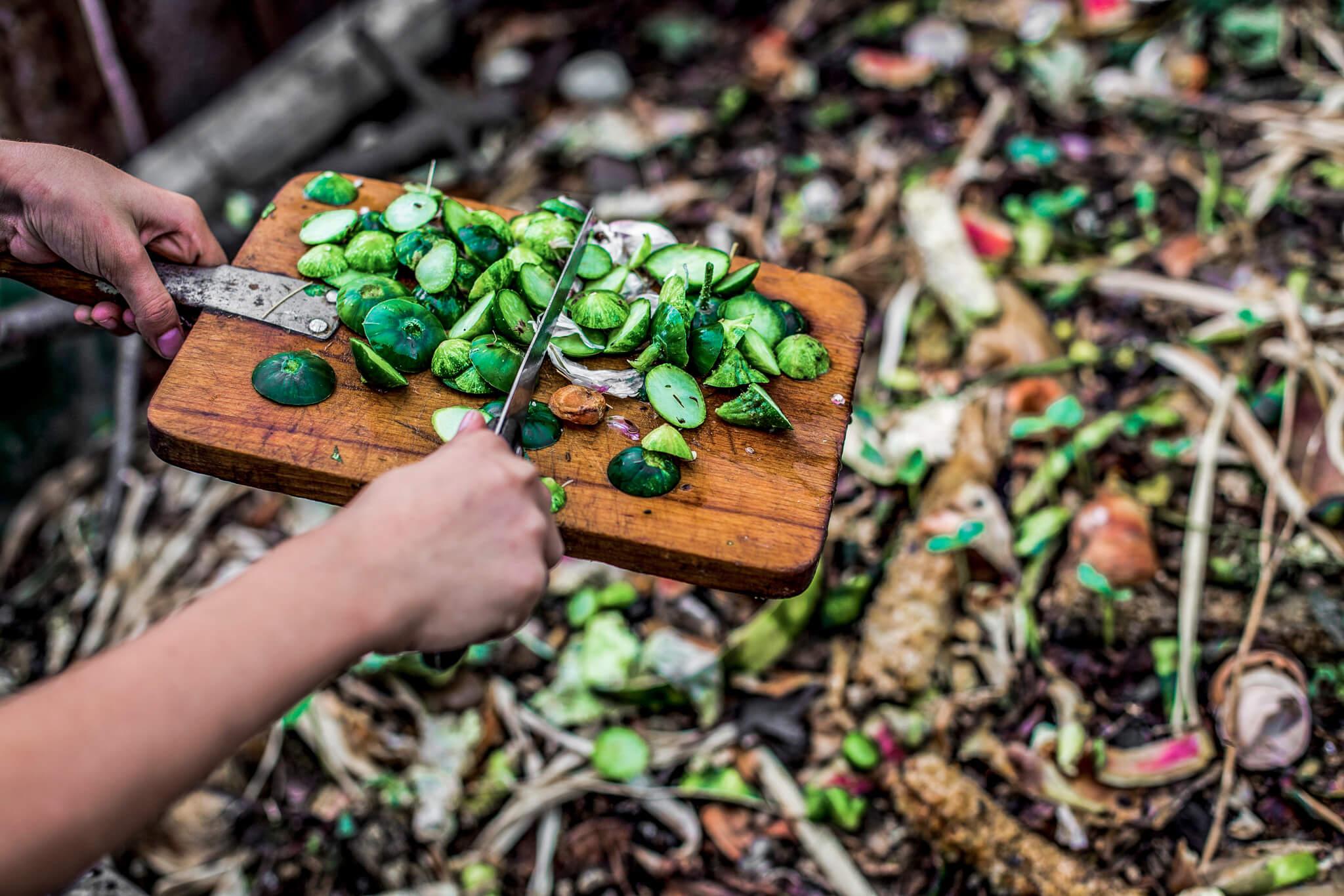 Restaurant Abfall vermeiden verwenden Zero Waste