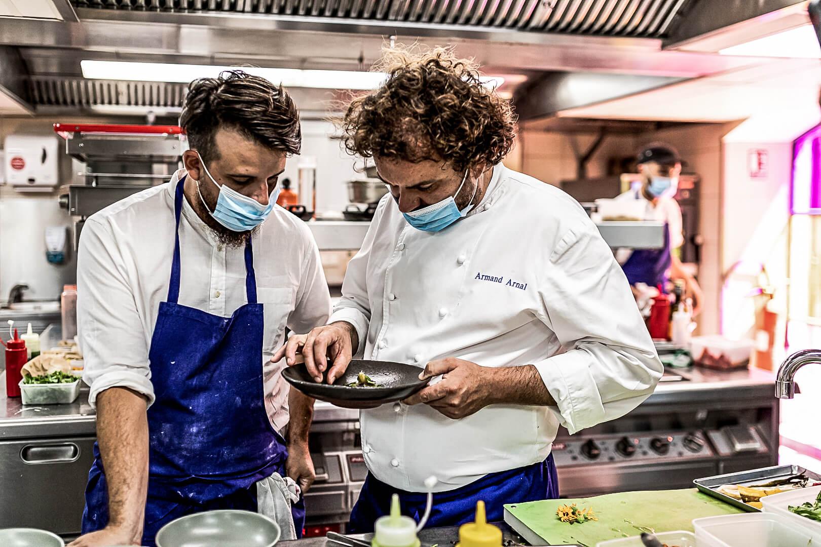 La Chassagnette organic restaurant sustainable zero waste
