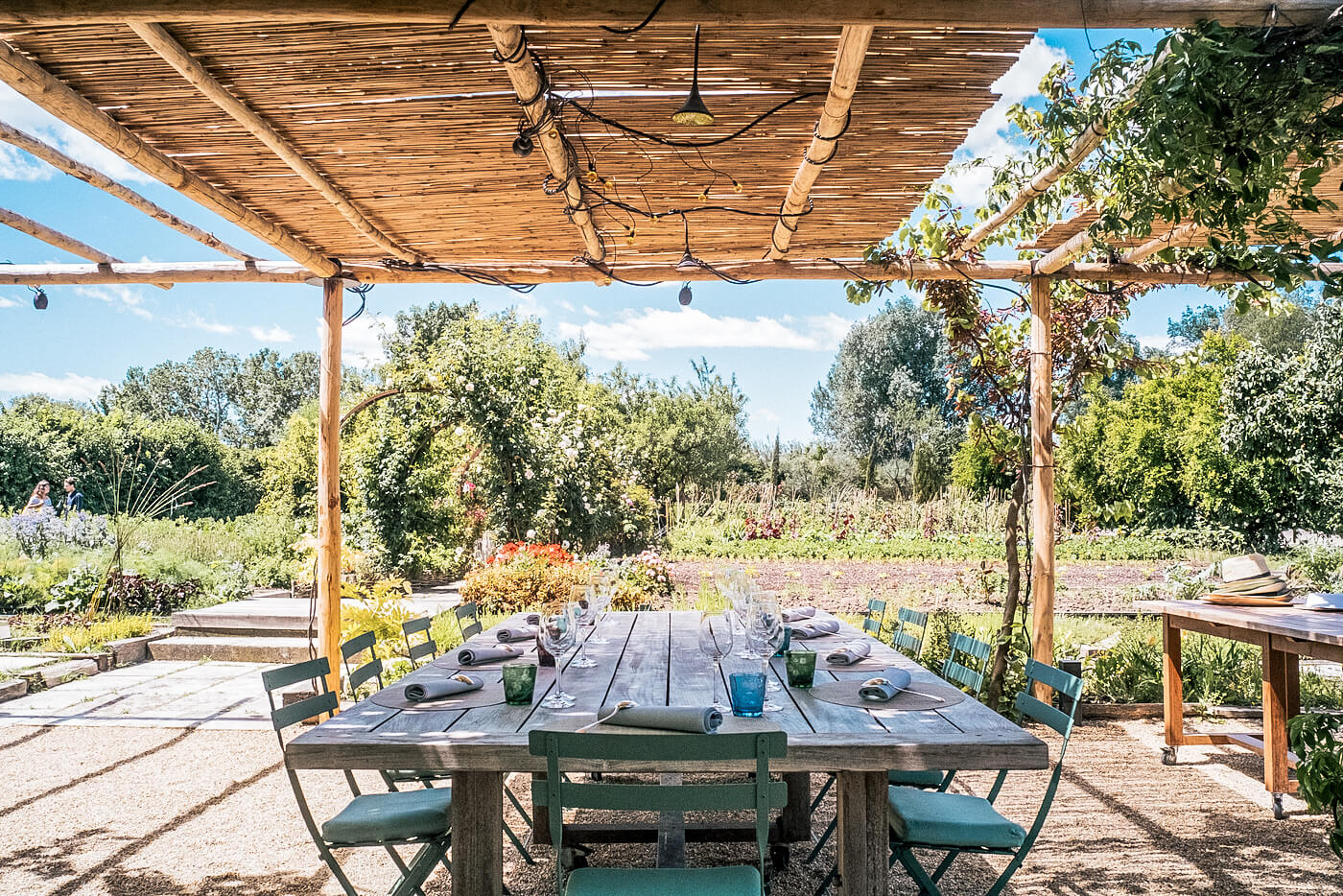 La Chassagnette was the first organic restaurant sustainable zero waste