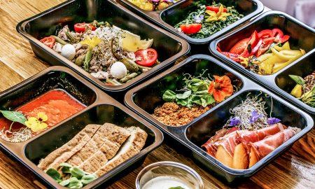 food to go take away Retail concept