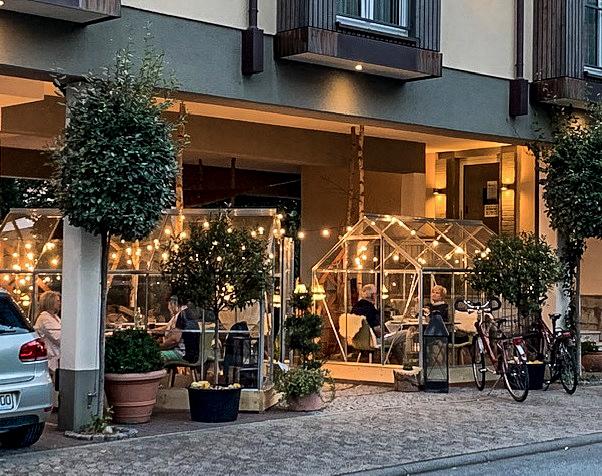 Gastro Weihnachtsgeschäft Restaurant Ideen Glashaus