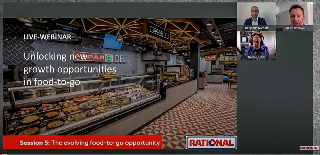food to go take away retail