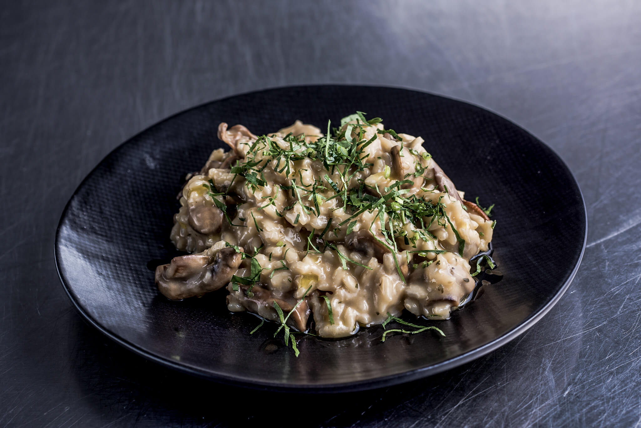 mushroom for cooking and eating in a restaurant
