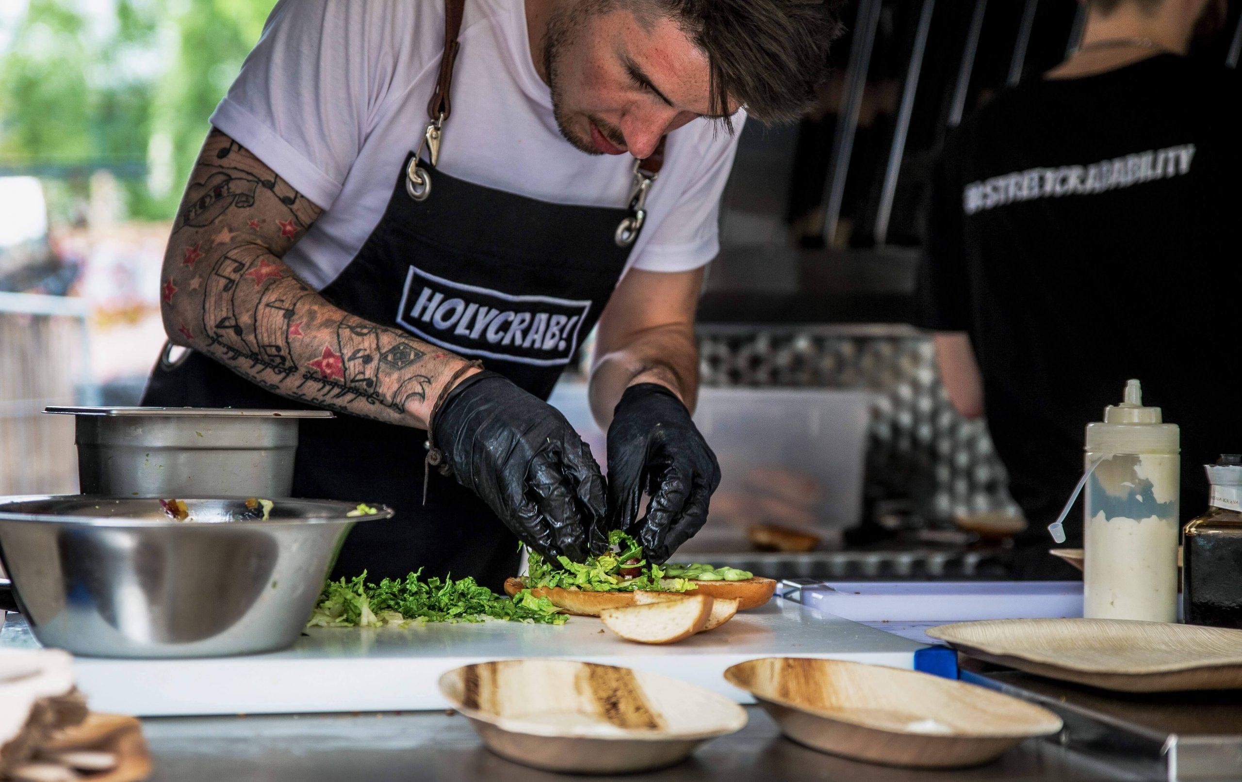 HolyCrab Food Truck Gastro Start up