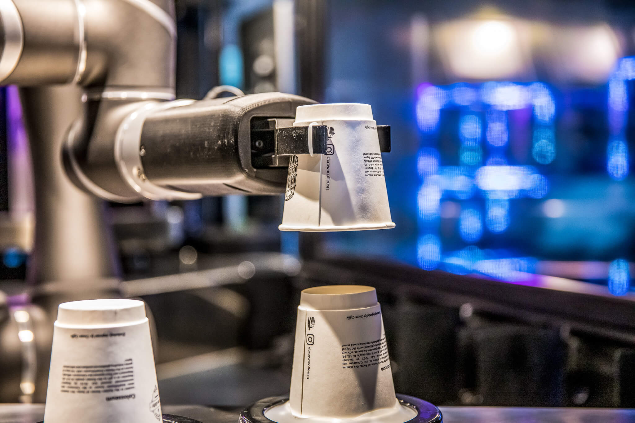 Robot Coffee Restaurant Digitalisation
