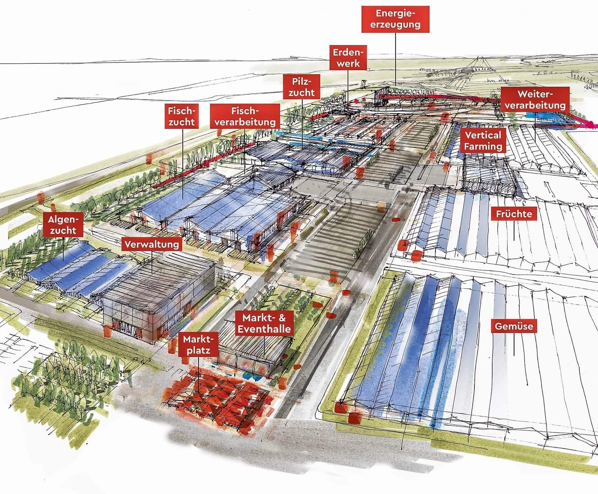 Wie sieht ein Hightech-Bio-Bauernhof aus?