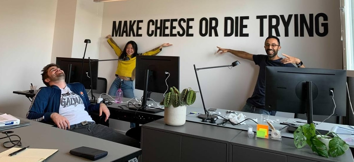 Ghost Kitchen, cloud kitchen and plant based cheese start ups