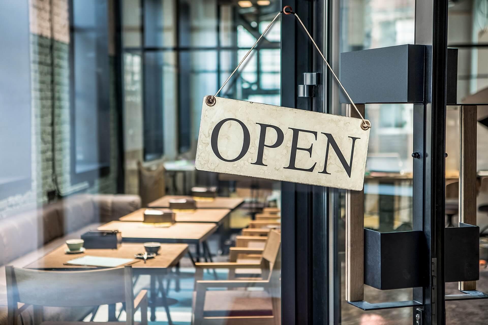 Restaurants reopening, Neuanfang der Gastronomie nach Corona