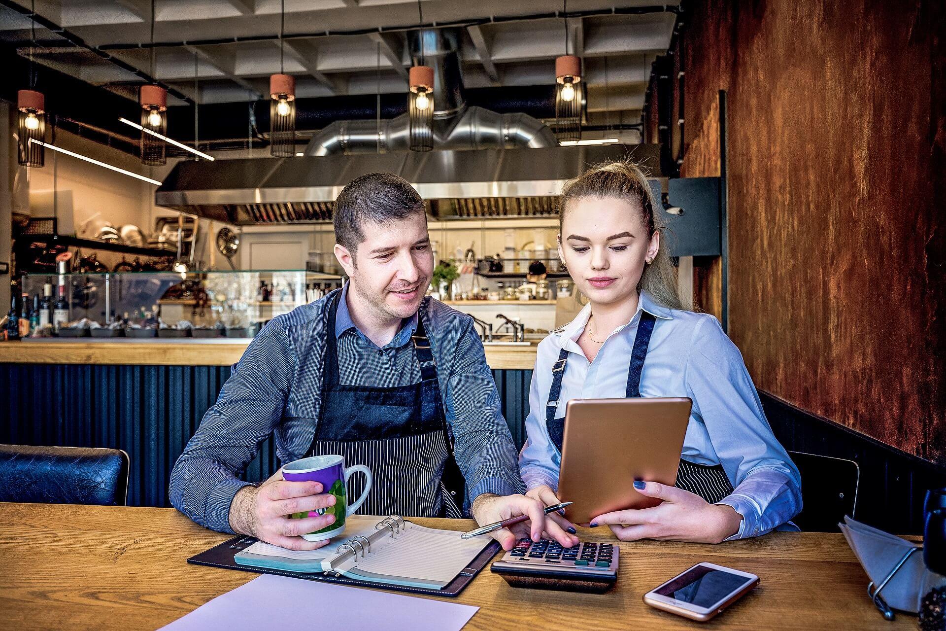 Restaurant Einnahmen steigen wieder nach Corona