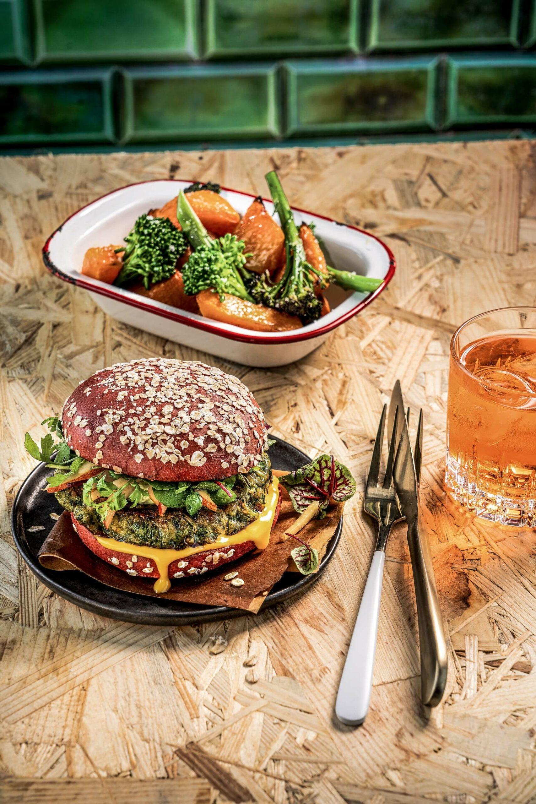 Wie schmeckt ein pflanzlicher Burger?