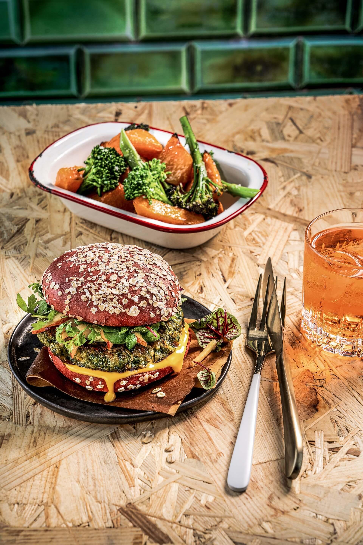 What does a plant-based burger taste like? Plant based start ups