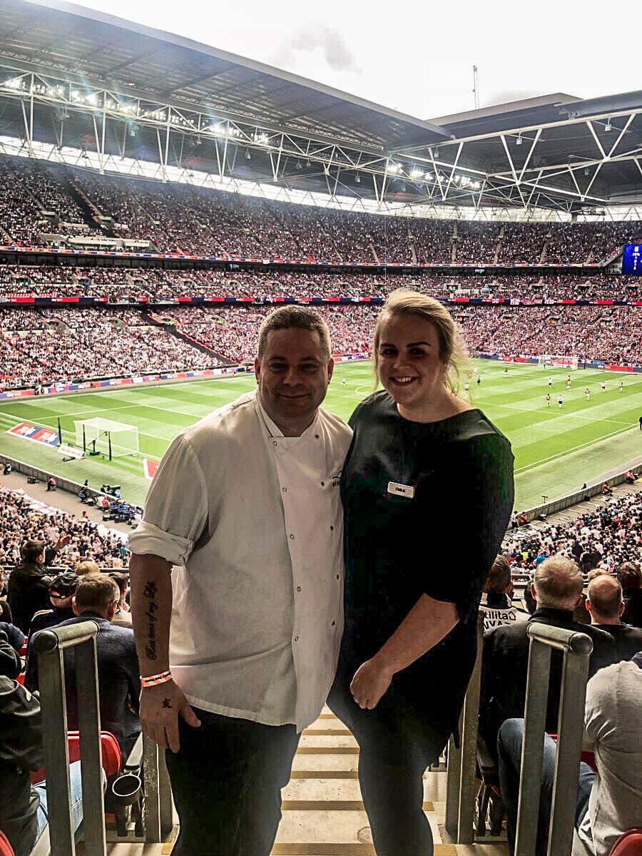 Stefan Pappert Europameinsterschaft 2021 Fussball Wembley VIP