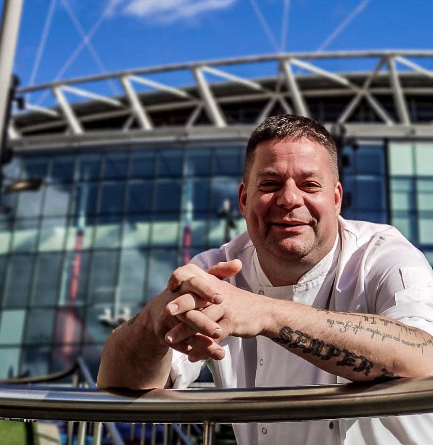 Stefan Pappert Europameinsterschaft 2021 Fussball Wembley