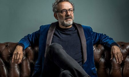 Eclectic and bright: Art lover Massimo Bottura's spectacular culinary creations have earned him a spot in the fine-dining Pantheon.