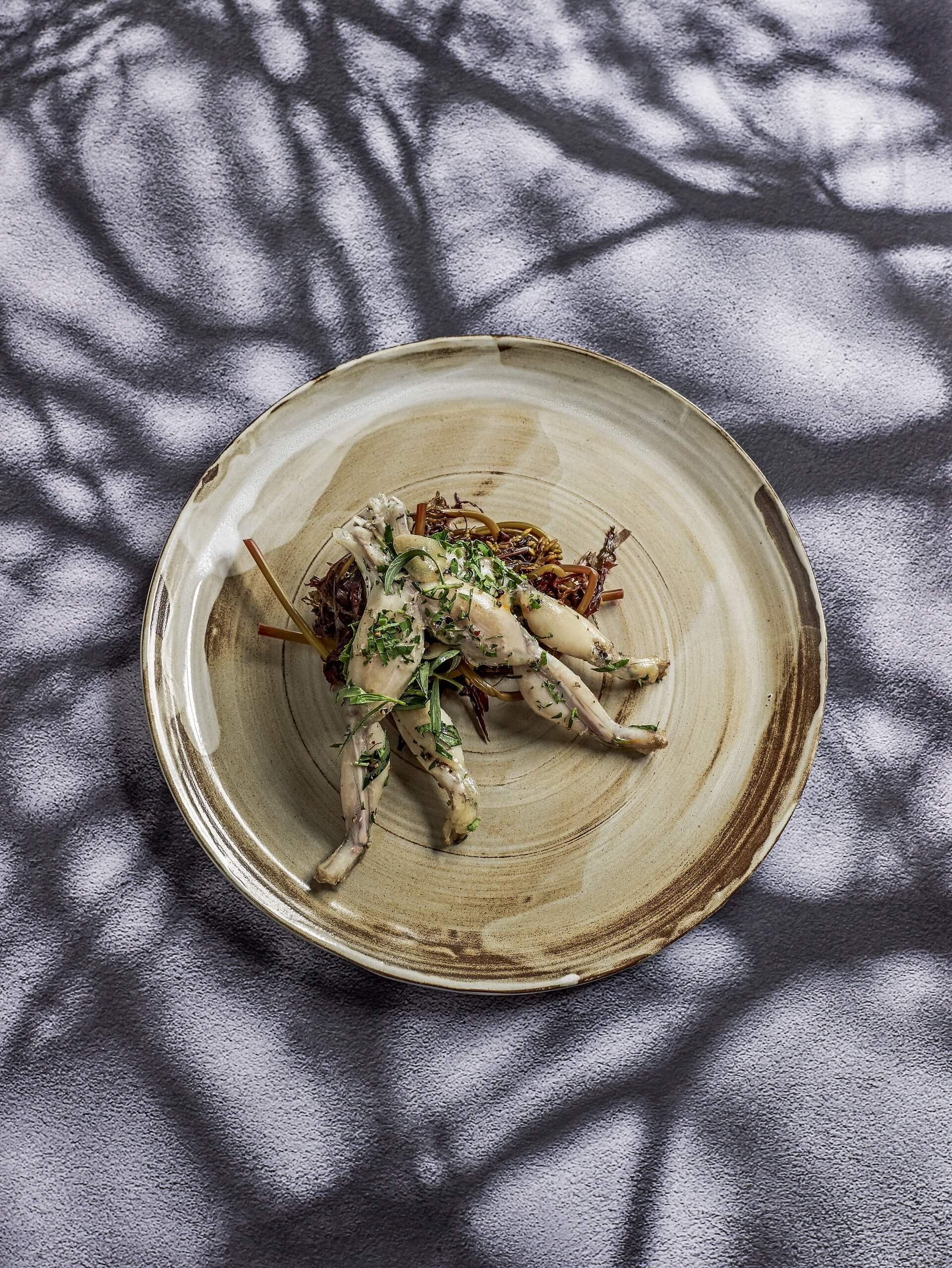 How to prepare frog legs?