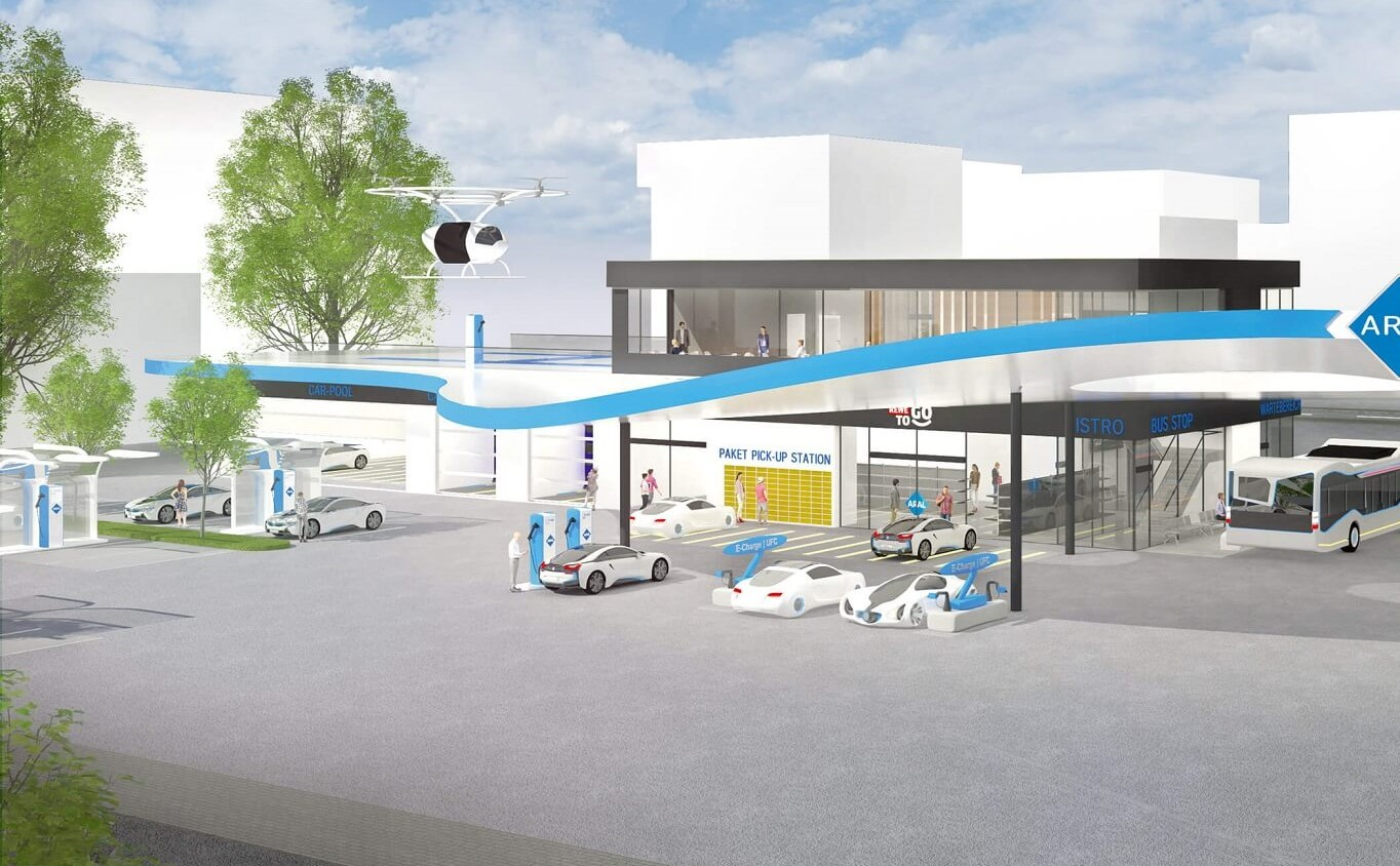 how will future forcourt retail and gas stations look like?
