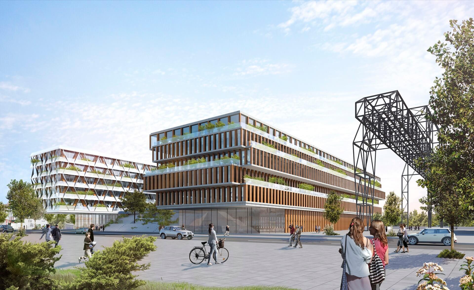 Wie wird das Projekt FoodCampus Berlin aussehen?