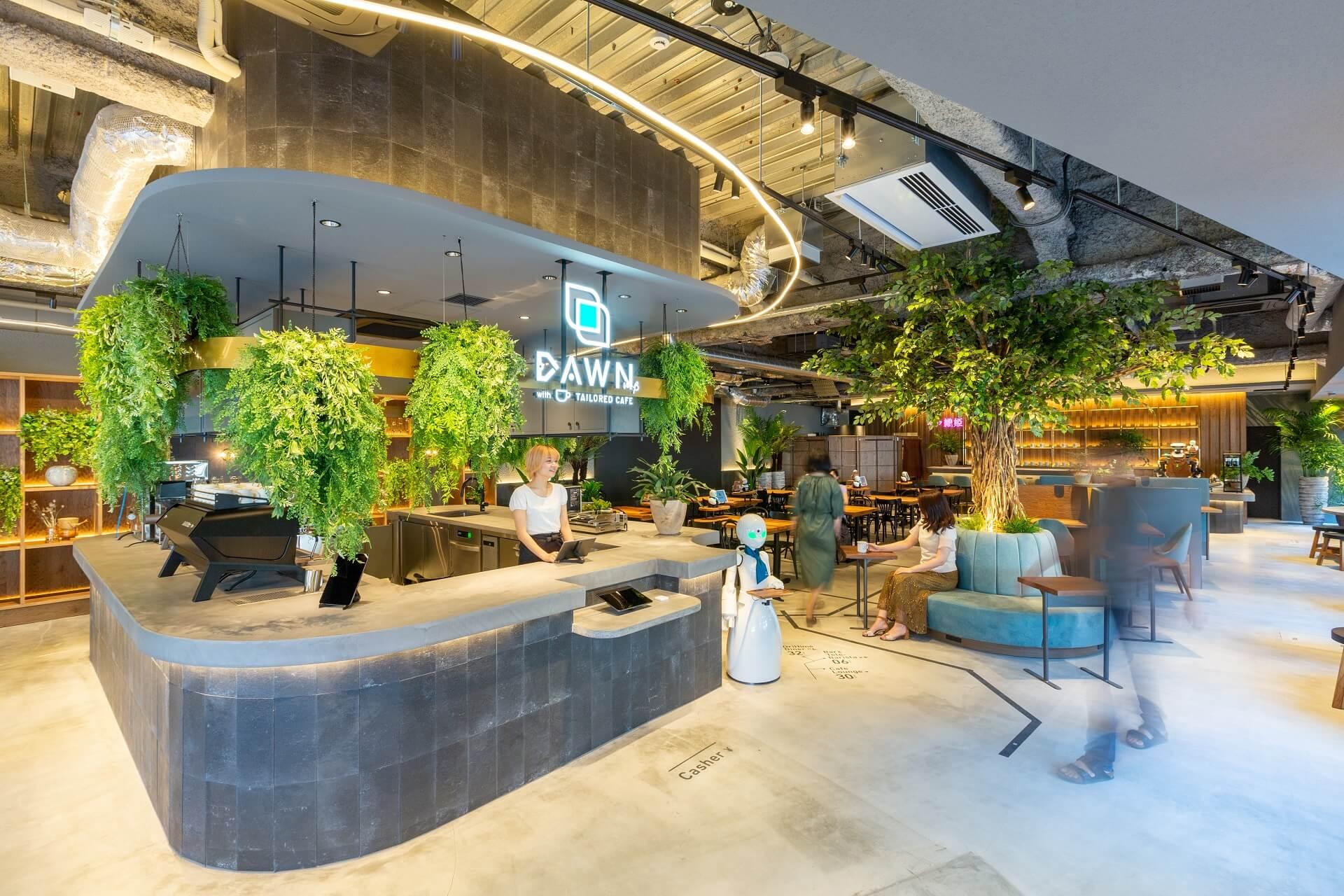 Wie sieht ein barrierefreies Café aus?