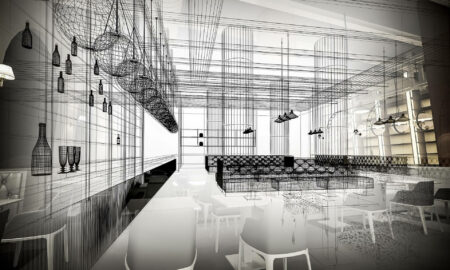 what does alain ducasse's new restaurant look like?