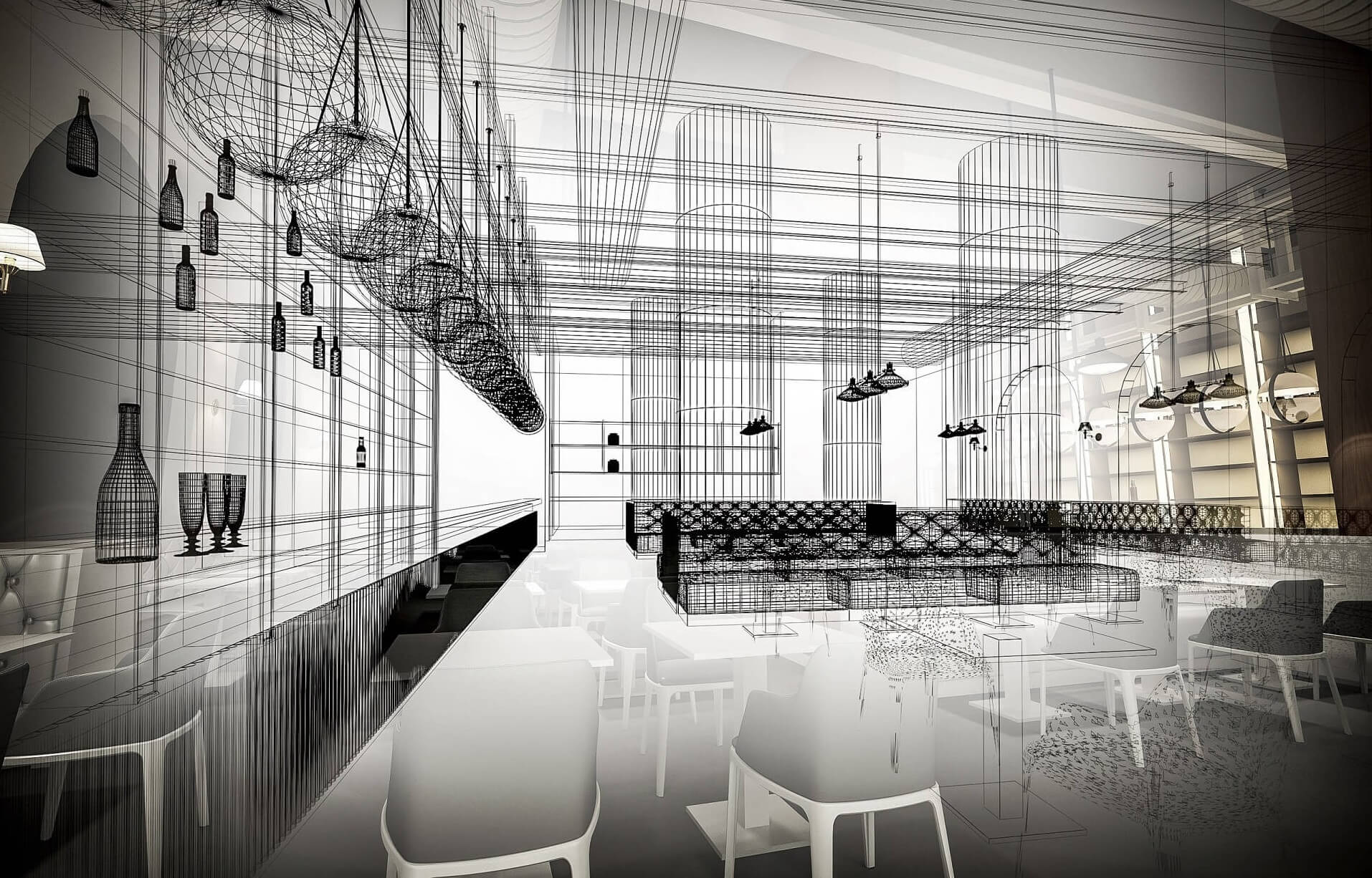 Wie sieht das neue Restaurant von Alain Ducasse aus?
